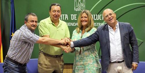 La Junta de Andalucía y los sindicatos CSIF, Comisiones Obreras y UGT llegan a un acuerdo para mantener la ultraactividad en convenios del sector público andaluz