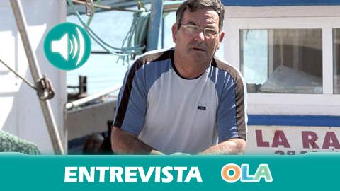 «La solución es que quiten los bloques de hormigón aunque ya hemos perdido un dineral» Leoncio Fernández, patrón mayor de la cofradía de La Línea