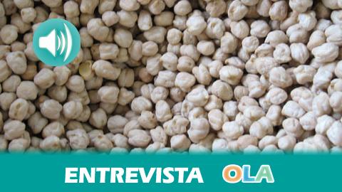 «El Garbanzo de Escacena es una variedad que no se despelleja, es muy cremoso y tiene un sabor magnífico», Luis Montoto, resp. Calidad, Cooperativa Campo de Tejada