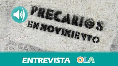 «El modelo económico, social y laboral tiende a reducir los derechos de los ciudadanos con la falsa promesa de poder competir en el mercado internacional», Juan Díaz, de Precarios en Movimiento