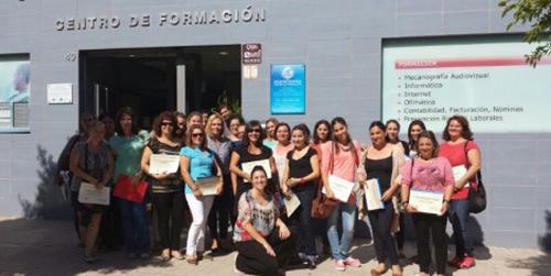 26 mujeres desempleadas del municipio almeriense de Huércal de Almería se forman como Manipulador de Alimentos