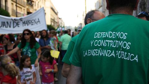 Padres, docentes, funcionarios y alumnos están llamados hoy a la huelga en protesta al proyecto de Ley Orgánica para la Mejora de la Calidad Educativa