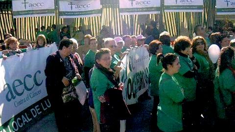 El municipio cordobés de Posadas apoya la VII Marcha Contra el Cáncer y pone un autobús a disposición de las personas que quieran participar