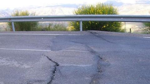 Comienzan las obras para eliminar el tramo de concentración de accidentes de la carretera A-315 en la comarca de Cazorla, Jaén