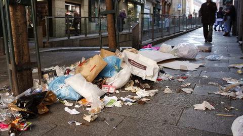 Continúa la huelga de basura que comenzó en Madrid el pasado 05 de noviembre