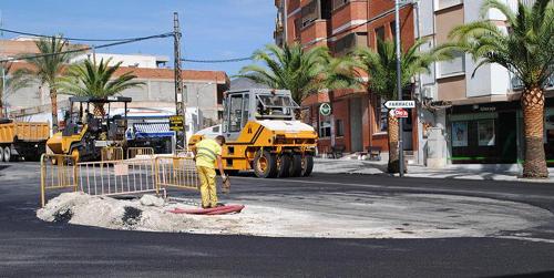 El Ayuntamiento de Olula del Río comienza varias obras de mantenimiento y rehabilitación en todo el municipio