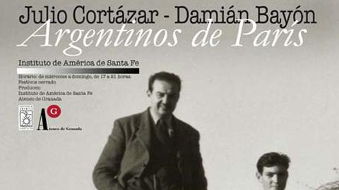 La localidad granadina de Santa Fe homenajea la figura del escritor Julio Cortázar con una exposición en el Centro de Estudios Damián Bayón