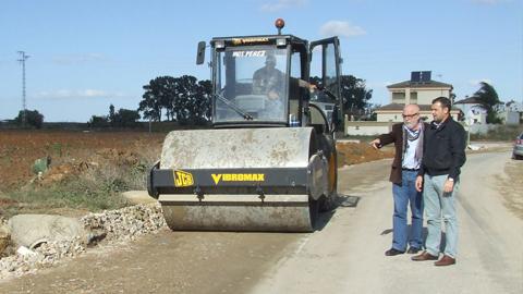 El municipio gaditano de Conil de la Frontera mejora sus comunicaciones con las obras realizadas en la carretera Canarias-La Lobita