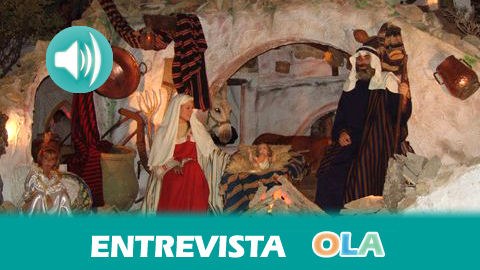 «El Belén Viviente de Beas recupera oficios de la localidad que se han ido perdiendo por el tiempo», Pilar Valenciano, HM Hermandad Ntra. Sra. de los Clarines