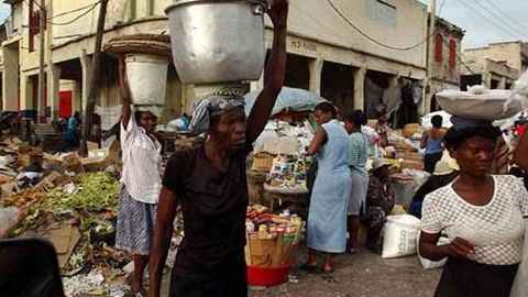 En Haití, casi 7 millones de haitianos pasan hambre, según  datos oficiales del año pasado