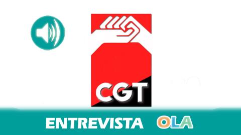 «La segregación de Adif divide la empresa en Adif-AVE, que será el Adif 'rico', y el Adif convencional, que se queda con la deuda de 14.000 millones de euros», Roberto Delgado, sector ferroviario CGT Andalucía