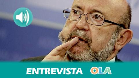 «El 80 por ciento de los presupuestos andaluces irán destinados a educación, sanidad y dependencia», Ignacio García, portavoz parlamentario de Economía por IU
