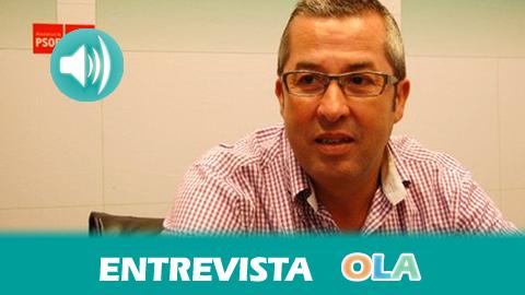 «Es un presupuesto que tiene un objetivo claro: la priorización de la creación de empleo y la reactivación económica», José Muñoz, portavoz del grupo socialista en el Partamento Andaluz