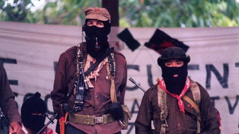 En México, el Ejercito Zapatista de Liberación Nacional cumple 20 años