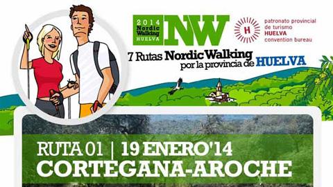 El próximo 19 de enero comienza un nuevo programa de las «Rutas de Nordic Walking por la provincia de Huelva» con el recorrido Cortegana-Aroche, actividad deportiva que une deporte, ocio y naturaleza