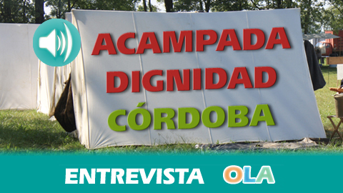 «La Acampada Dignidad es una forma de autogestión de la ciudadanía para dar alternativas que las autoridades no dan», Juanma Caballero, integrante de la Acampada Dignidad