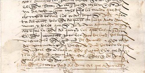 El Ayuntamiento granadino de Huétor Tájar adquiere de un anticuario madrileño el primer documento histórico relacionado con la localidad, un manuscrito del siglo XVI que hace referencia al pago de impuestos de los vecinos y vecinas