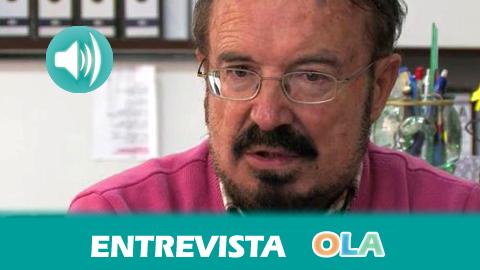 «Pequeñas acciones y personas hacen cosas grandes porque el proyecto de paz es muy ambicioso y siempre está empezando», Luis Pernía, cofundador Asociación Andaluza por la Solidaridad y la Paz