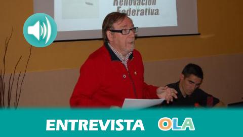 «Senderismo es salud, un día de senderismo es una semana de vida», Julio Perea, presidente de la Federación Andaluza de Montañismo