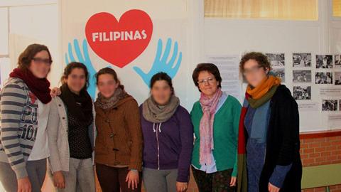 El alumnado del IES López de Arenas de Marchena desarrolla una campaña solidaria con diversas actividades para recaudar fondos con el objetivo de ayudar a las víctimas del terremoto de Filipinas