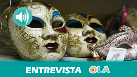 «Hay que comprar los disfraces, complementos y maquillajes en establecimientos seguros y especializados para evitar riesgos», Angélica Gonzalez, jefa de Servicio Provincial de Consumo en Cádiz