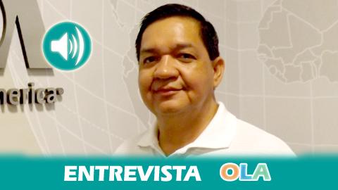 """""""ARENA, el partido de derecha que ha quedado en segundo lugar, lucha contra la historia, ya que la historia en El Salvador dice que el ganador en la primera vuelta, siempre gana en la segunda"""", Óscar Pérez, responsable de la Fundación Comunicándonos de El Salvador"""