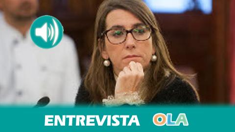«Desde la bicicleta se puede ver una perspectiva completamente distinta de la provincia de Cádiz», Inmaculada Olivero, diputada de Turismo de la Diputación de Cádiz