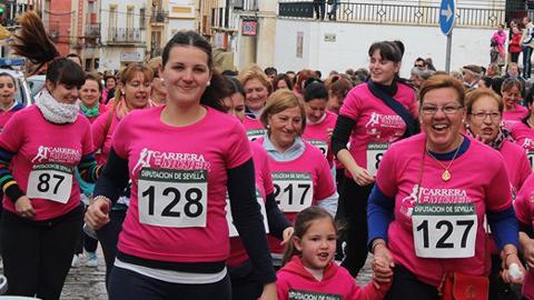 La II Carrera de la Mujer y el teatro del alumnado del IES Isidro de Arceneguis destacan entre las diversas actividades que Marchena prepara con la igualdad como temática principal para conmemorar el Día de la Mujer