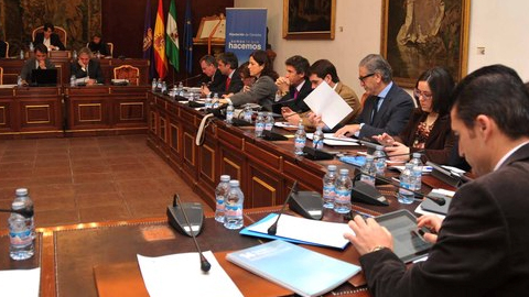 31 municipios con más de un núcleo de población de la provincia de Córdoba se beneficiarán del Plan de Aldeas 2014 aprobado por la Diputación con un presupuesto de 720.000 euros