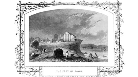 Una exposición muestra la historia de Palos de la Frontera a través de su Puerto y su Castillo en el marco de las Jornadas de Historia del Descubrimiento y la Feria Medieval