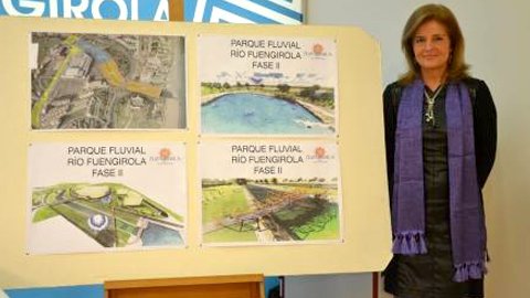 Fuengirola avanza en el embellecimiento del entorno del río y saca a concurso la segunda fase de la creación del Parque fluvial por más de 1,5 millones de euros