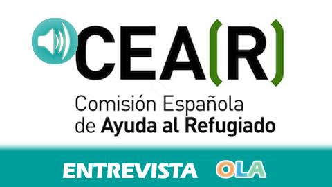 «No se están garantizando los derechos de las personas refugiadas que llegan solicitando asilo a nuestras fronteras», Francisco Cansino, coordinador Comisión Española de Ayuda al Refugiado en Andalucía Oriental