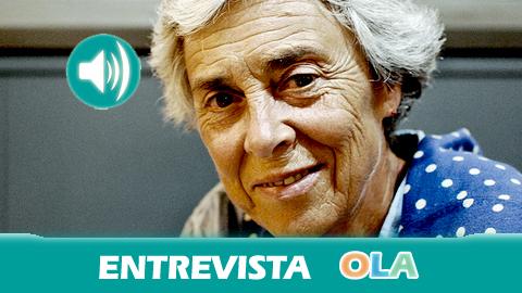 «Si no somos capaces de tirar El Algarrobico demostraremos que somos un país que no aprende nada y que no rectifica las barbaridades hechas», Lola Yllescas, portavoz de Ecologistas en Acción