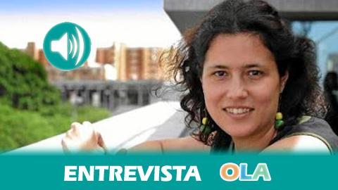 «Al paralizarse la ley antidesahucios andaluza se ha dado más impunidad a las entidades financieras y es más difícil negociar para que las familias no pierdan su casa», Amanda Meyer, secretaria general de Vivienda de la Junta de Andalucía