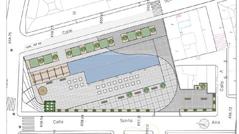 Una plaza para albergar un mercado al aire libre y un nuevo parking público formarán parte del proyecto para dinamizar el comercio local en Maracena