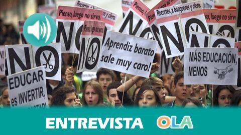 «El Plan Bolonia era muy ambicioso pero la falta de financiación ha hecho que solo sirva para dar entrada a las empresas en las universidades», Antonio Somoza, PAS e integrante de CGT