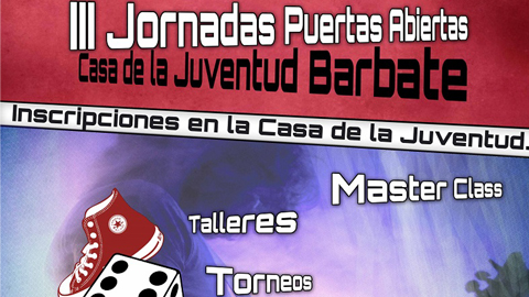 Este sábado 12 de abril tendrá lugar la 3ª edición de las Jornadas de la Casa de la Juventud en Barbate, con talleres de ocio desde las 12.00 de la mañana, acompañados de torneos y actividades gratuitas