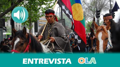 """""""Las comunidades mapuches luchan por sus tierras ancestrales y por mantener su identidad, su cultura y su lengua"""", Jorge Rodríguez, historiador chileno"""