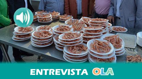 """""""Punta Umbría tiene una identidad meramente marinera y este tipo de eventos sirven para dar apoyo al sector en estos tiempos"""", Antonia Hernández, concejal de Turismo de Punta Umbría (Huelva)"""