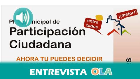 """""""Los presupuestos participativos son un paso importante porque implica a los vecinos y mejora los canales de comunicación entre ellos y los políticos"""", José Carrasco, concejal de Participación Ciudadana Ayuntamiento de Casares (Málaga)"""