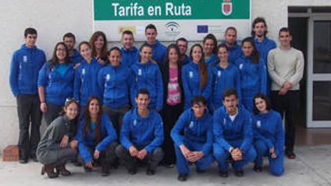 """La escuela taller """"Tarifa en Ruta"""" forma a 20 jóvenes en áreas demandantes de empleo dentro del sector del turismo activo, como son las de """"Monitor/a Deportivo/a"""" y """"Turismo de Aventura"""""""