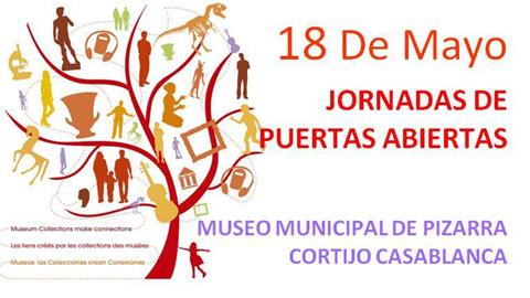 """Pizarra celebrará el Día Internacional de los Museos con una Jornada de puertas abiertas en el Museo Municipal Cortijo Casablanca bajo la premisa """"Los vínculos creados por las colecciones de los museos"""""""