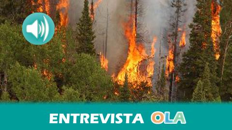 «En la zona de Almería la sequía ha dejado una situación extrema para los incendios» Javier Madrid, director general del INFOCA