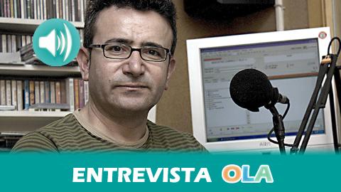 «Después de 25 años seguimos con las mismas premisas de ser un servicio público y un instrumento de capacitación para quien quiera acercarse al mundo de la radio», Francis Molina, director de Onda Pasión – La Rambla (Córdoba)
