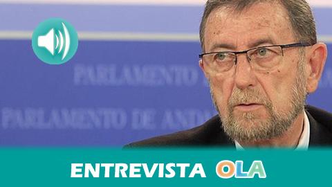 «La Ley de Transparencia Pública de Andalucía va a mejorar el funcionamiento del Parlamento también desde el punto de vista de la participación ciudadana» Manuel Gracia, presidente del Parlamento andaluz