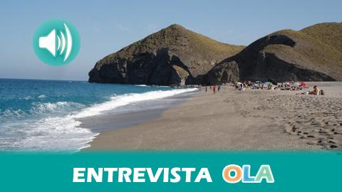 """""""Esa franja de costa virgen y su paisaje volcánico hace que llegar al Parque Natural Cabo de Gata sea impactante"""", Fernando Alonso, presidente de la Asociación de Empresarios de servicios turísticos del Parque Natural Cabo de Gata-Nijar (Almería)"""