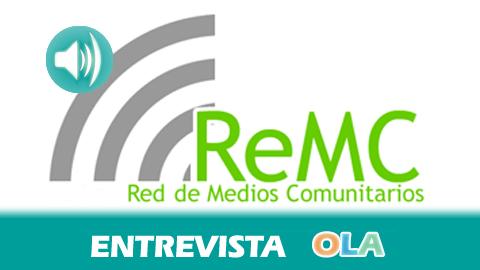 «Andalucía se puede convertir en una región pionera en el reconocimiento de los derechos y la labor de los medios comunitarios», María Navarro, presidenta de la Red de Medios Comunitarios