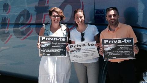 """Torrox pone en marcha este viernes la iniciativa """"Priva-T"""": un servicio de autobús para desplazar a las personas jóvenes que lo deseen desde el interior del municipio hasta la zona de ocio de la Costa"""