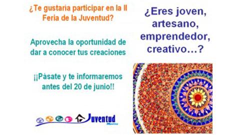 """Bajo el lema """"Diviértete de forma saludable"""" Martos celebra la II Feria de la Juventud los días 10 y 11 de julio"""