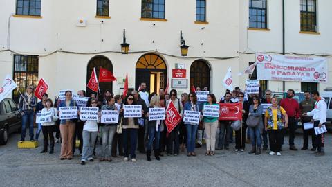 El Ayuntamiento de Nerva abona 100.000 euros a la Mancomunidad Cuenca Minera para el pago de las indemnizaciones pendientes a los extrabajadores del organismo supramunicipal